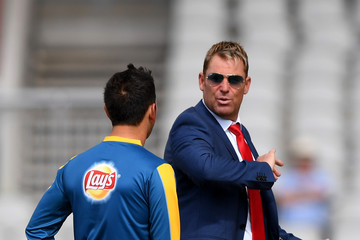 Shane Warne England v Pakistan: 2nd Investec Test - Day Four