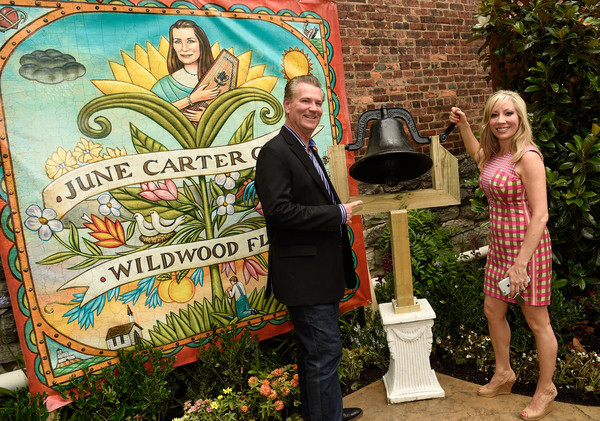 Guests Enjoy the June Carter Cash Birthday Celebration at The Opening Of The Wildwood Flower Garden