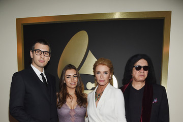 Shannon Tweed The 57th Annual GRAMMY Awards - Red Carpet