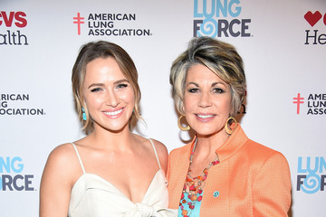 Shantel VanSanten American Lung Association 's LUNG FORCE Launches Its Share Your Voice Initiative