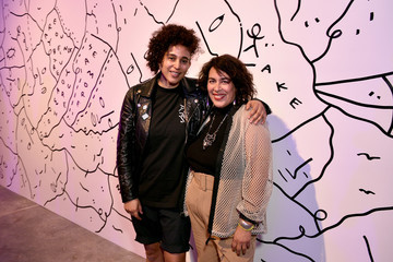 Shantell Martin Muriel Parra HBO's Human By Orientation Panel, Art Basel Miami