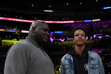 Shaquille O'Neal Golden State Warriors v Los Angeles Lakers