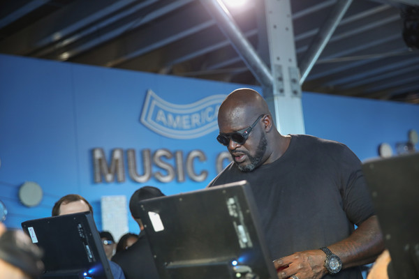 Shaquille O'Neal Attends The 2018 Austin City Limits Festival With American Express In Austin, TX
