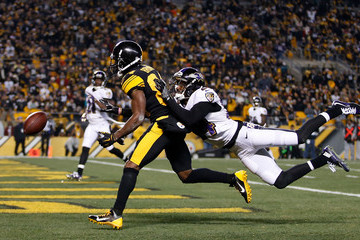 Shareece Wright Baltimore Ravens v Pittsburgh Steelers