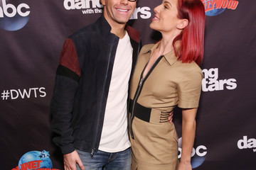 Sharna Burgess 'Dancing With The Stars' Season 27 Cast Reveal Red Carpet At Planet Hollywood Times Square