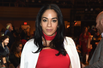 Sharon Carpenter The American Heart Association's Go Red For Women Red Dress Collection 2017 Presented By Macy's at Fashion Week in New York City - Arrivals & Front Row
