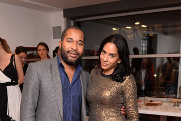 Sharon Carpenter Ego Soleil NYFW SS 2018 Launch Featuring Art By GE Galeria