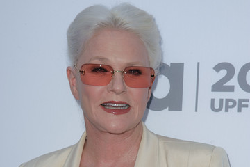 Sharon Gless Celebs at the USA Upfront Event in NYC