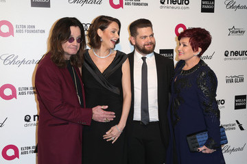 Sharon Osbourne Arrivals at the Elton John AIDS Foundation Oscars Viewing Party — Part 4