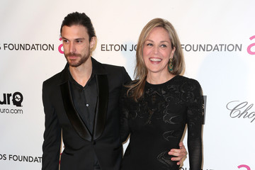 Sharon Stone Martin Mica 21st Annual Elton John AIDS Foundation's Oscar Viewing Party - Arrivals