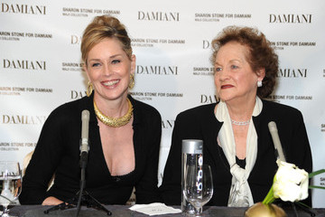 "Dorothy Stone Sharon Stone Unveils Donation And New Damiani ""Maji"" Collection"