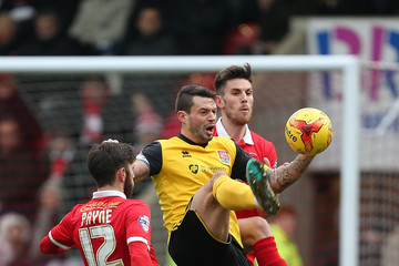 Shaun Brisley Leyton Orient v Northampton Town - Sky Bet League Two