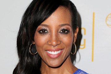 Shaun Robinson 66th Emmy Awards Celebration