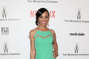 Shaun Robinson Weinstein Company and Netflix Golden Globes Party