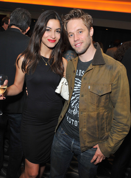 Shaun Sipos and girlfriend