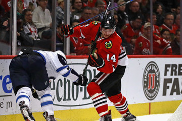 Shawn Matthias Winnipeg Jets v Chicago Blackhawks