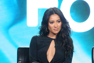 Shay Mitchell 2017 Winter TCA Tour - Day 6