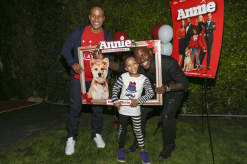 Shayla Gibson Tyrese Gibson And Daughter Host Screening Of ANNIE For Friends And Family