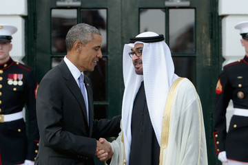 Sheikh Mohammed bin Zayed Al Nahyan President Obama Welcomes Leaders and Delegations From The Gulf Cooperation Council