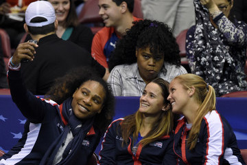 Shelby Rogers 2018 Fed Cup First Round - Team USA v the Netherlands