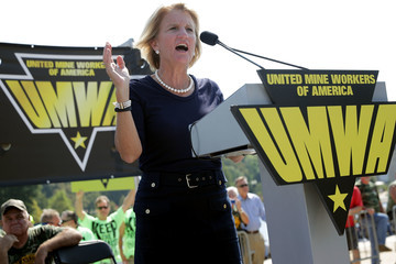 Shelley Moore Capito United Mine Workers Holds Rally Urging Congress To Preserve Benefits For Retired Coal Miners