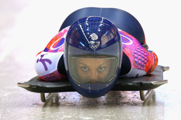 Shelley Rudman Best of the Winter Olympics: Day 6