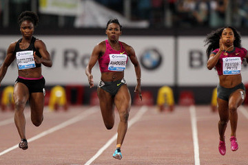 Shelly-Ann Fraser-Pryce IAAF Golden Gala in Rome