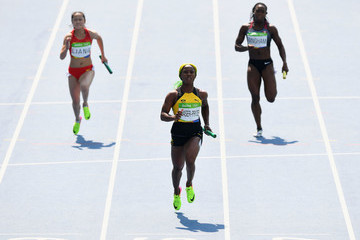Shelly-Ann Fraser-Pryce Decathalon - Olympics: Day 13