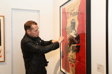 Shepard Fairey Art Wynwood VIP Preview