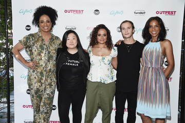 Sherry Cola Maisha Closson Special Screening Of TNT's 'Claws' With TurnOUT LA And OUTFEST