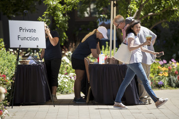 Sheryl Sandberg Annual Allen And Co. Meeting In Sun Valley Draws CEO's And Business Leaders To The Mountain Resort Town