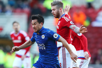 Shinji Okazaki Middlesbrough v Leicester City - Premier League