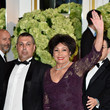 Shirley Bassey Monaco Red Cross Ball Gala