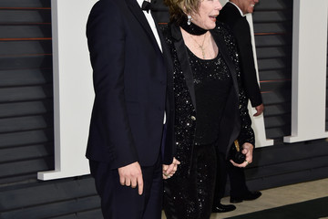 Shirley MacLaine Arrivals at the Elton John AIDS Foundation Oscars Viewing Party — Part 5