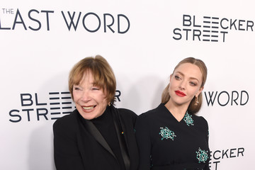 Shirley MacLaine Premiere of Bleecker Street Media's 'The Last Word' - Red Carpet