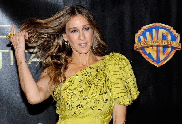 "Actress Sarah Jessica Parker arrives at the Warner Bros. Pictures presentation to promote her new film, ""Sex and the City 2"" at the Paris Las Vegas during ShoWest, the official convention of the National Association of Theatre Owners, March 18, 2010 in Las Vegas, Nevada."