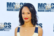Cynthia Addai-Robinson attends 'Shooter' Season 3 Red Carpet And Special Screening At Marine Corps Air Station Miramar at Marine Corps Air Station Miramar on June 20, 2018 in San Diego, California.