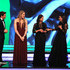 Missy Franklin Photos - Host James Marsden on stage with the New Laureus Academy Members Missy Franklin,Lorena Ochoa and Luciana Aymar during the 2019 Laureus World Sports Awards on February 18, 2019 in Monaco, Monaco. - Show - 2019 Laureus World Sports Awards - Monaco