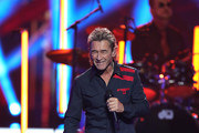 Peter Maffay performs on stage during the 71st Bambi Awards show at Festspielhaus Baden-Baden on November 21, 2019 in Baden-Baden, Germany.
