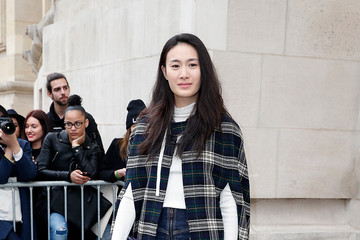 Shu Pei Qin Celebs at the Chanel Runway Show
