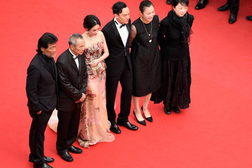 "Shu Qi Closing Ceremony And ""Le Glace Et Le Ciel"" Premiere - The 68th Annual Cannes Film Festival"