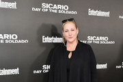 "Amy Sacco attends the New York screening of ""Sicario: Day Of The Soldado"" on June 18, 2018 in New York City."