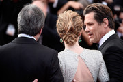 "(L-R) Director Denis Villeneuve, actors Emily Blunt and Josh Brolin attend the ""Sicario""  Premiere during the 68th annual Cannes Film Festival on May 19, 2015 in Cannes, France."