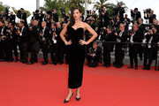 Adriana Lima in Black Velvet - Every Gorgeous Gown from the 2015 Cannes Film Festival