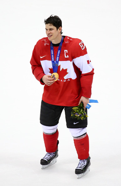 winter olympic games and crosby No country had ever previously won more than 13 golds in a single games but  when their golden boy sidney crosby smashed home the puck.