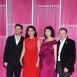 Sidse Babett Knudsen Closing Ceremony And 'Safe' Pink Carpet Arrivals - The 1st Cannes International Series Festival