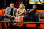 "Actors Channing Tatum, Sienna Miller and Marlon Wayans visit ""No. 1 Countdown"" at fuse Studios on August 4, 2009 in New York City."