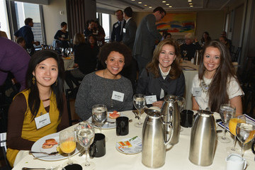 Silda Wall Spitzer Gotham Magazine Celebrates Its Business Of Philanthropy Breakfast At AllianceBernstein