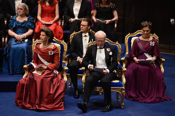 Silvia of Sweden The Nobel Prize Award Ceremony 2015