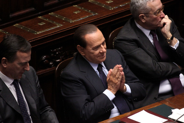 Italian Houses of Parliament Discuss Vote Of Confidence